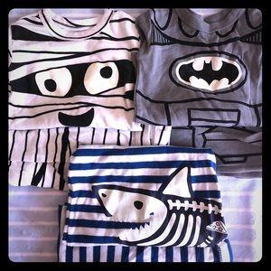 3 sets of Gap pajamas